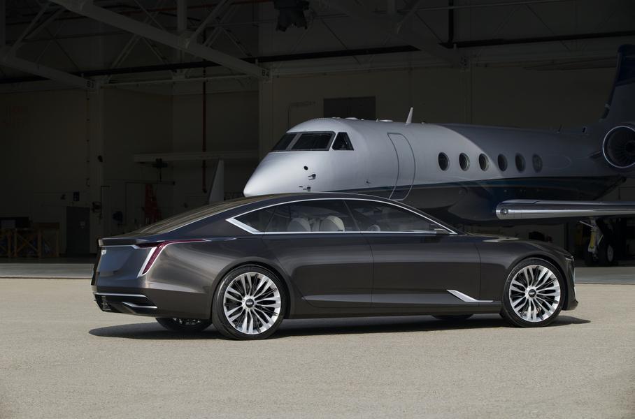 Появились новые сведения об электрическом седане Cadillac 1