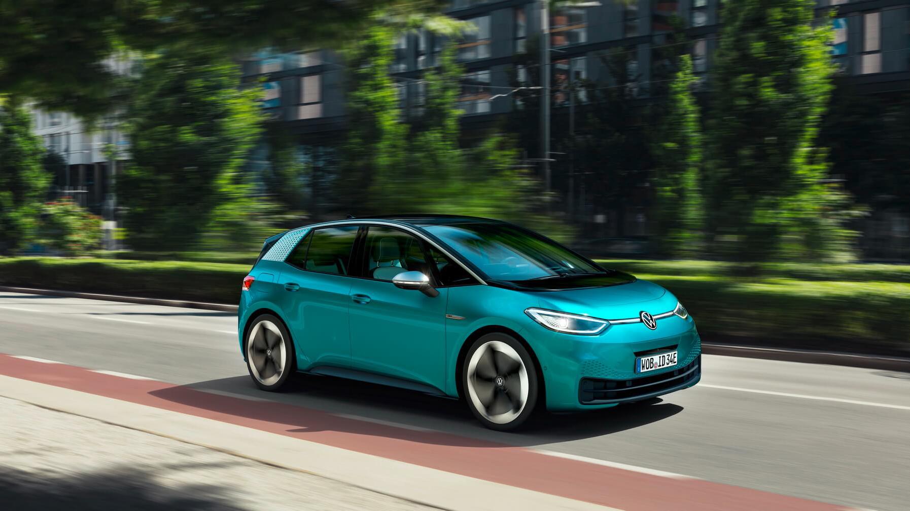 Новый Volkswagen iD.3 получил ценник ниже Golf 1