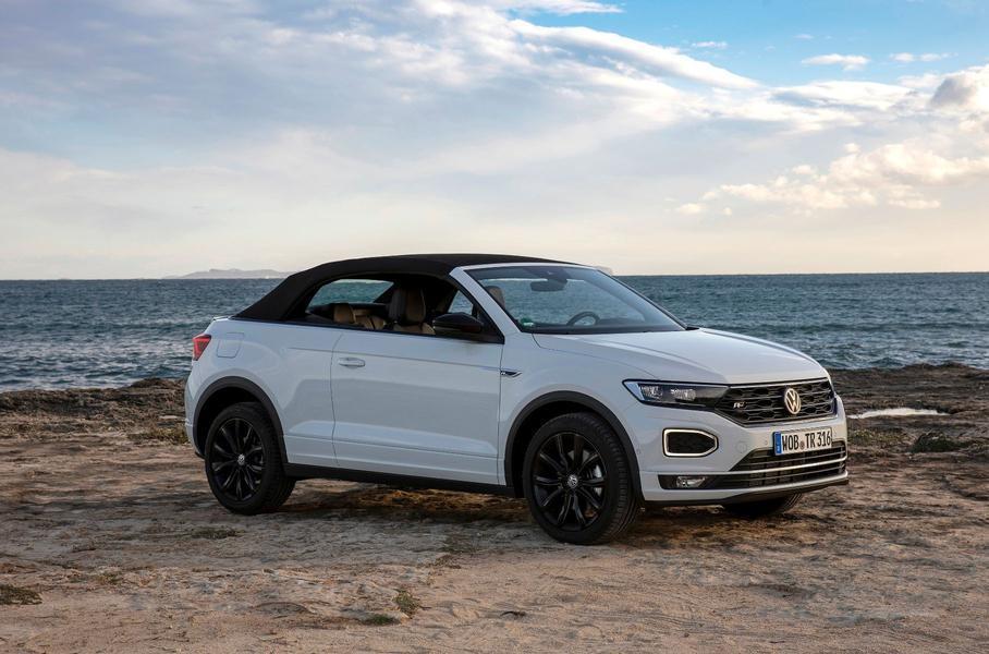 Volkswagen вывел на рынок кроссовер-кабриолет T-Roc 1