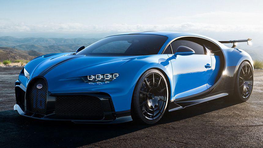 Bugatti представила хардкорный Chiron Pur Sport 1