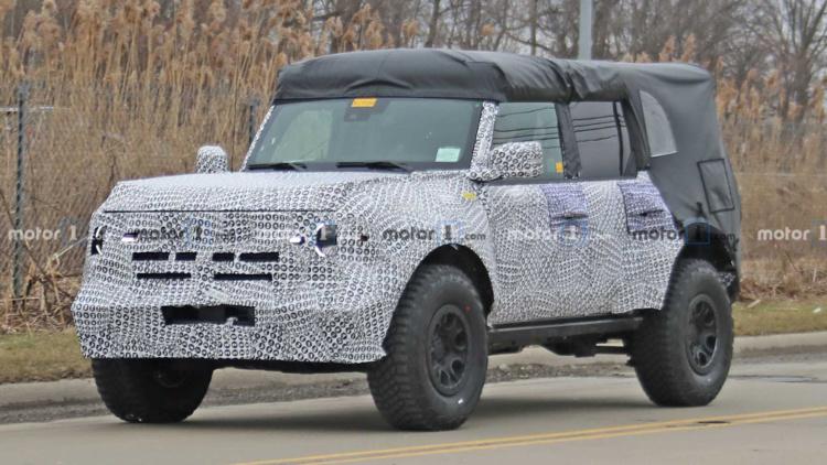 Ford вывел на тесты новый внедорожник Bronco 1