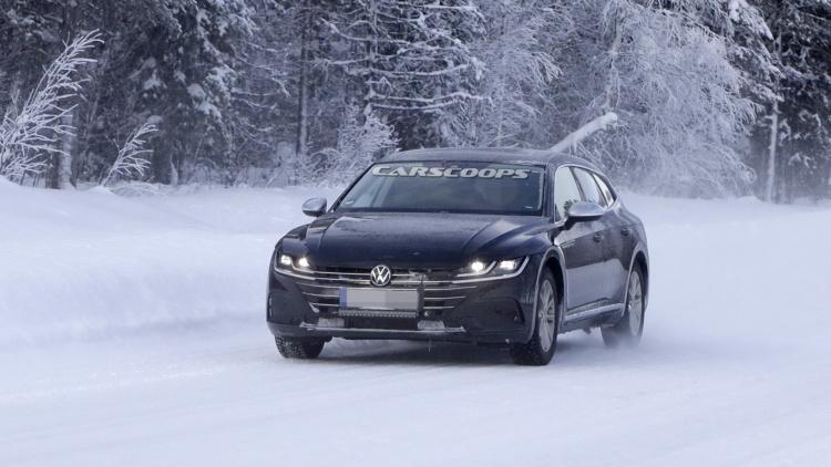 Volkswagen приступил к тестам нового Arteon 1