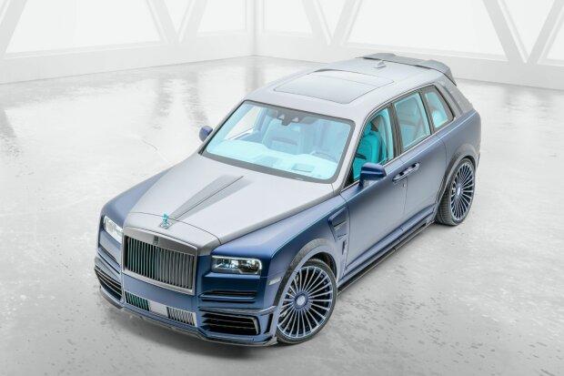 Rolls-Royce Cullinan получил «цыганский» тюнинг 1