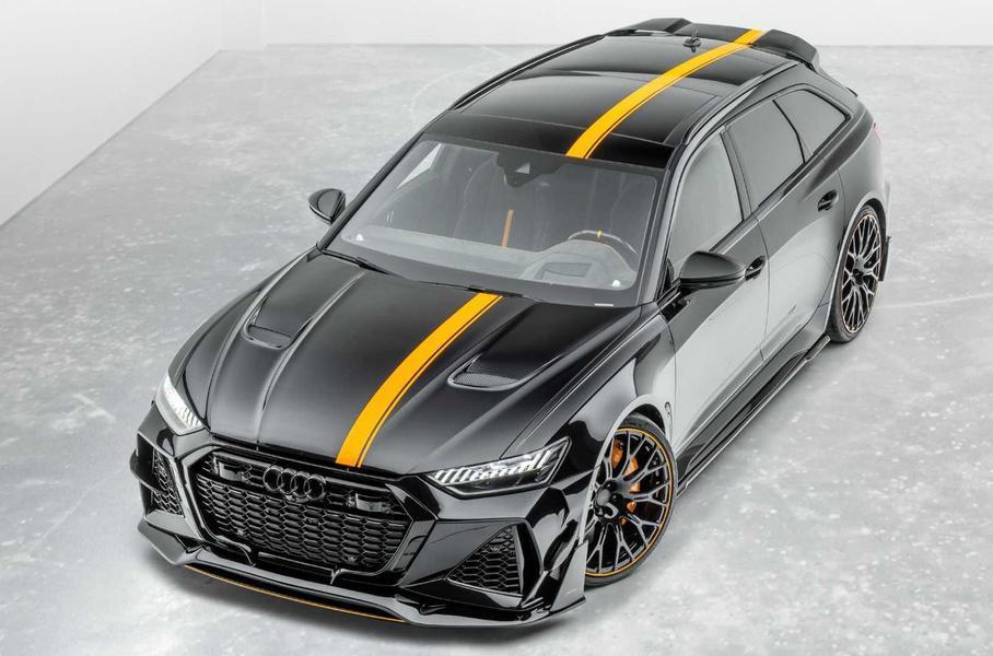 Audi RS6 Avant получил полностью карбоновый кузов 1