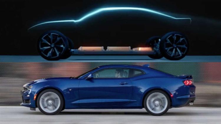 Неожиданно: Chevrolet Camaro может стать электромобилем 1