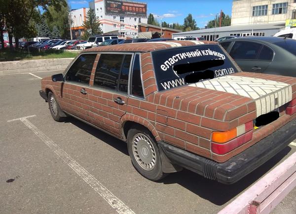 Украинский «кирпичный» тюнинг Volvo прославился на весь мир 1
