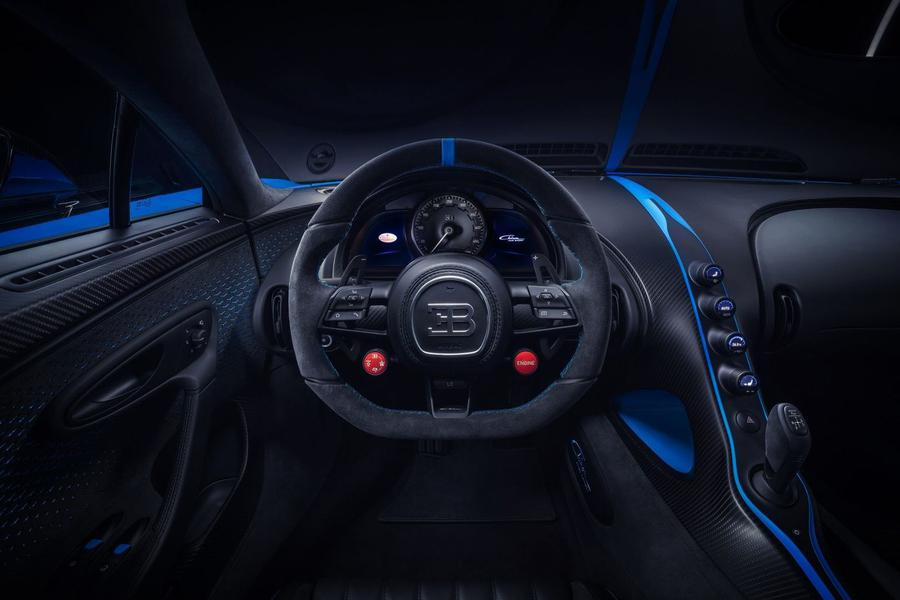 Bugatti представила хардкорный Chiron Pur Sport 3