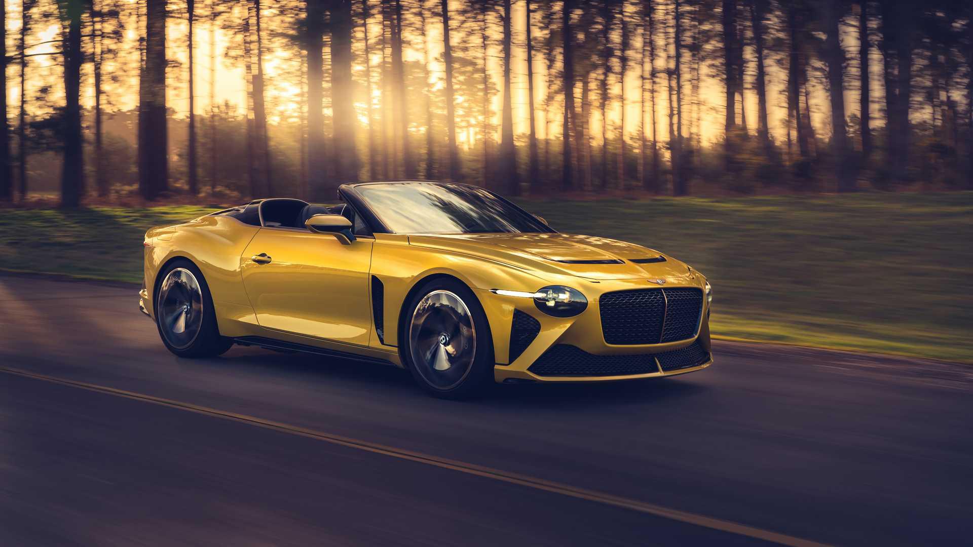 Кроссовер Bentley Bentayga может превратиться в кабриолет 1