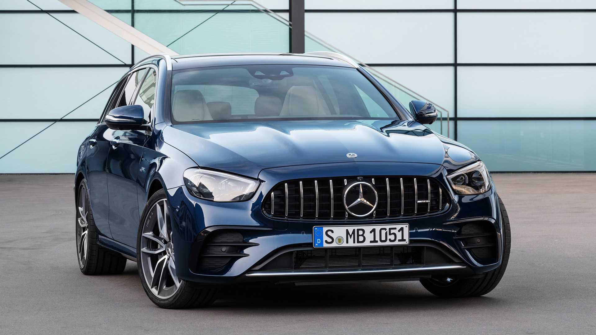 Mercedes-Benz E-класса полностью обновился 3