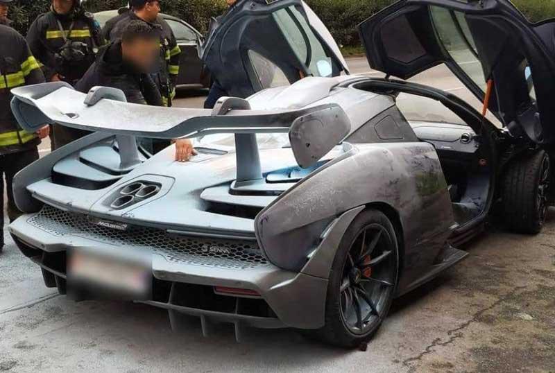 Суперкары McLaren продолжают гореть 1