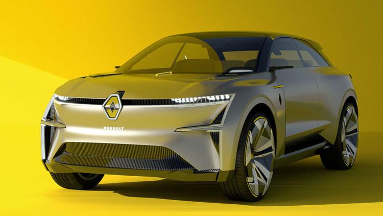 Компания Renault презентовала «дальнобойный» электромобиль 1