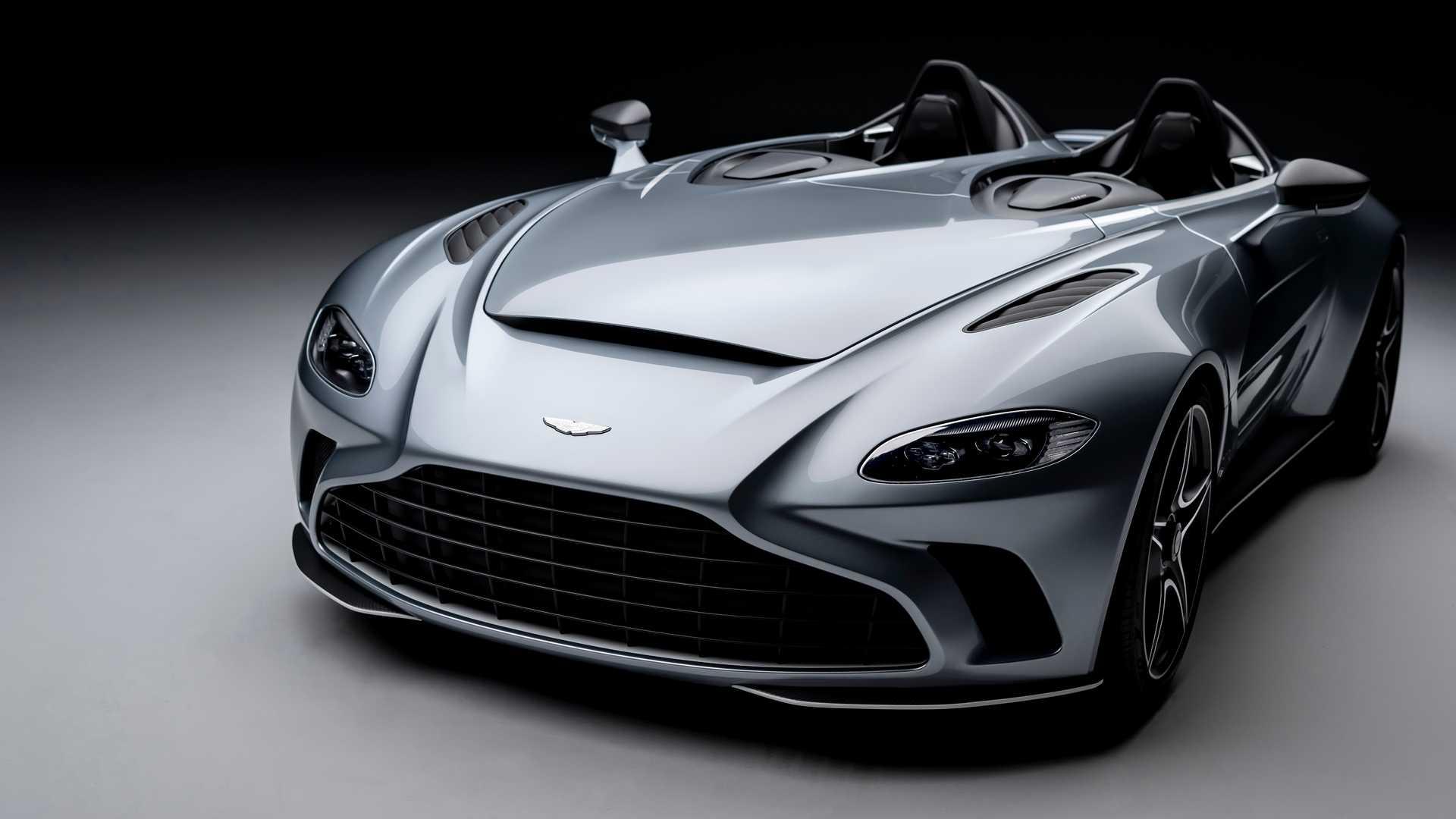 Суперкар Aston Martin без крыши и окон разгонится до 300 километров в час 1