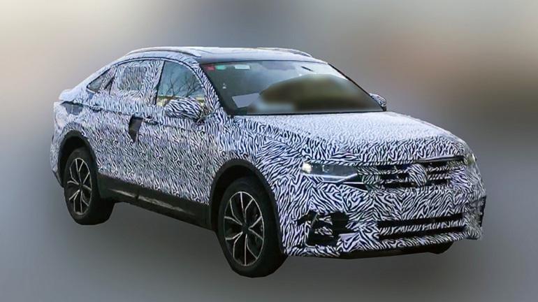 Volkswagen вывел на тесты купеобразную версию кроссовера Tiguan 1