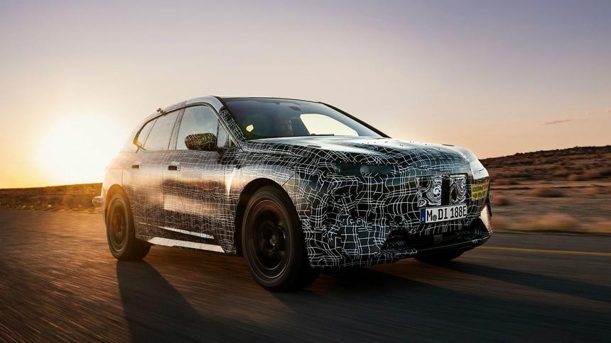 Беспилотный электро-кросс BMW испытали экстремальной жарой 3