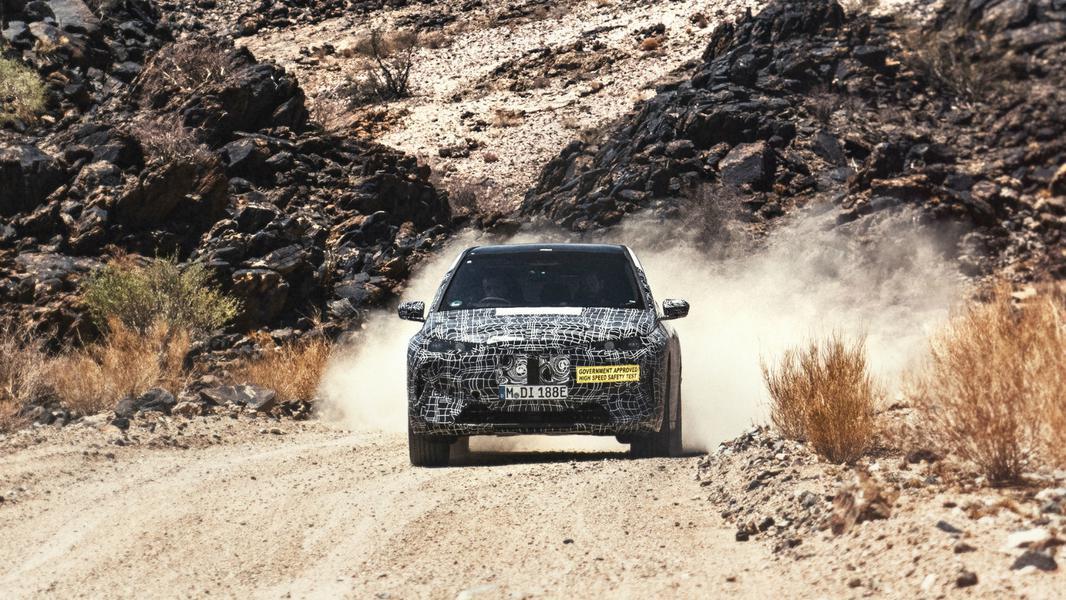 Беспилотный электро-кросс BMW испытали экстремальной жарой 1