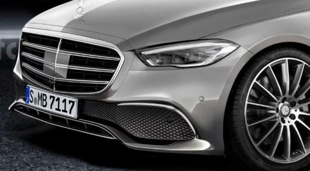 Каким может быть новый Mercedes S-Class 1