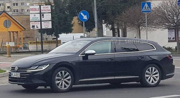 В Сети опубликованы снимки универсала на базе Volkswagen Arteon 1