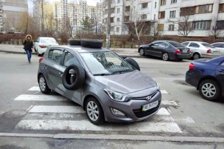 Сколько денег заработал Киев на неправильной парковке 1