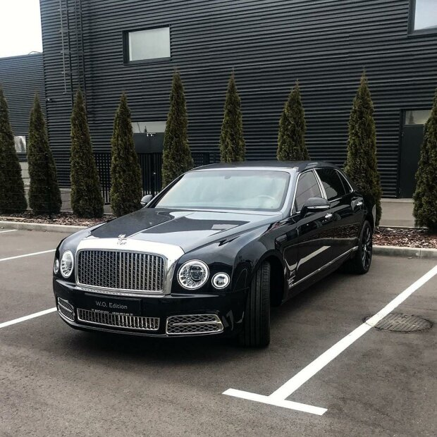 Мегакрутой и очень редкий Bentley прописался в Украине 1