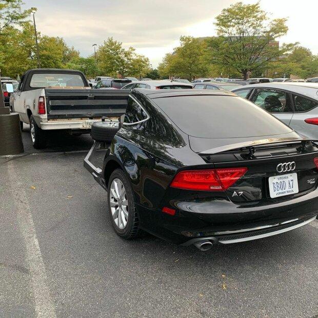 Из Audi A7 сделали мангал 1