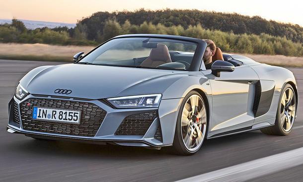 «Спортивная экзотика»: обзор Audi R8 Spyder V10 3