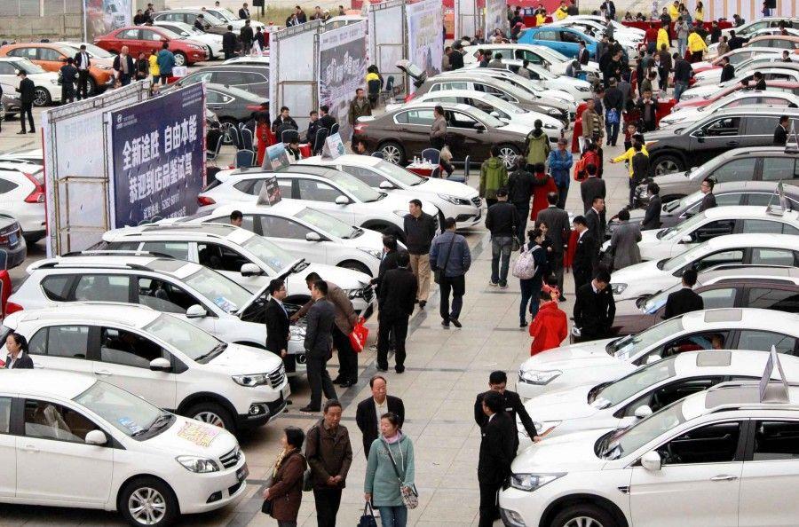 Продажи автомобилей в Китае упали более чем в 12 раз 1