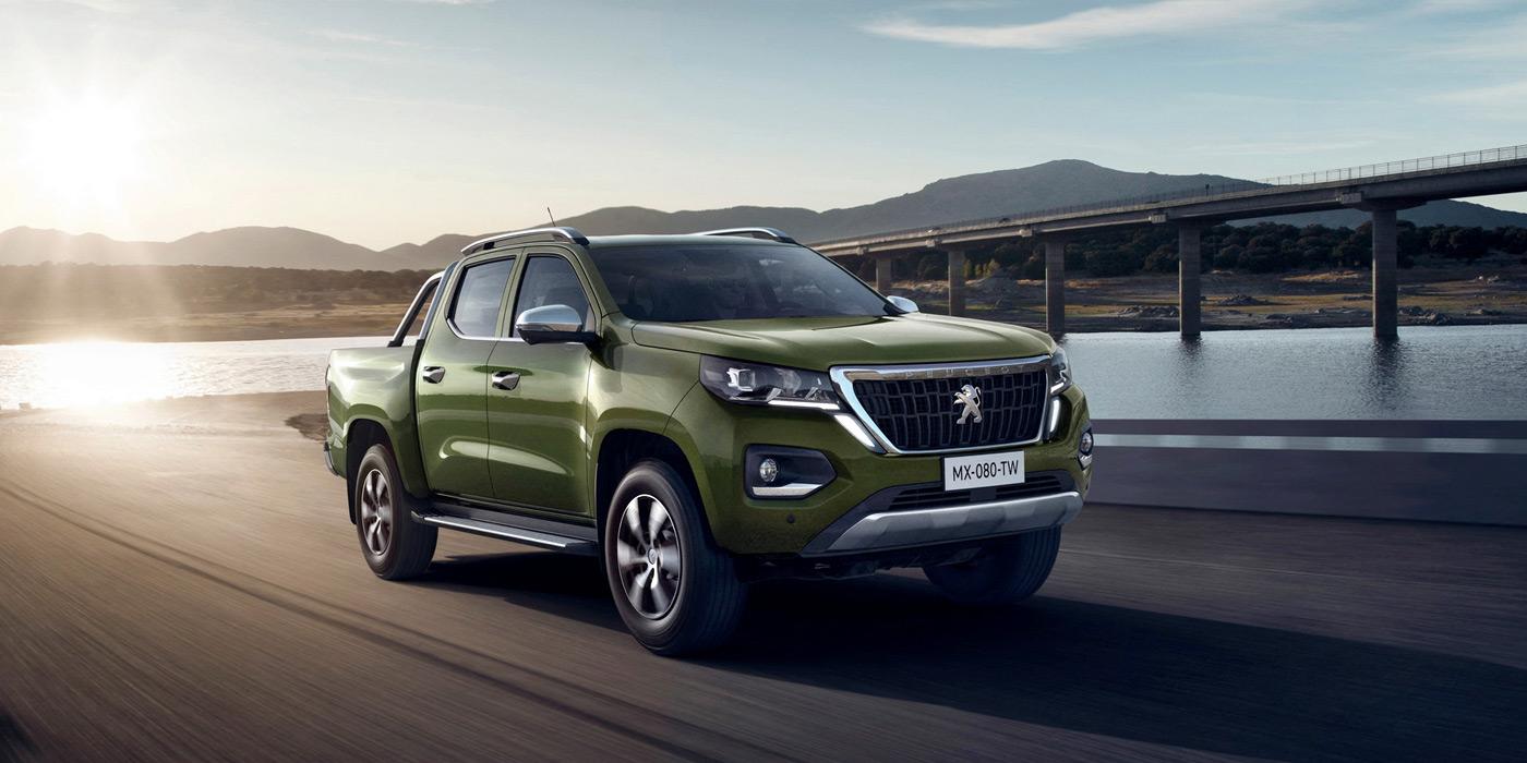 Peugeot представил новый пикап без заднего бампера 1