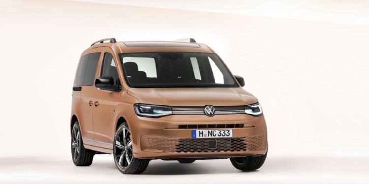 Новый Volkswagen Caddy рассекречен до премьеры 1