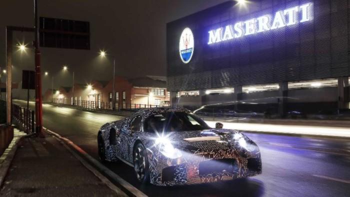 Maserati раскрыла некоторые сведения о своей новинке 1
