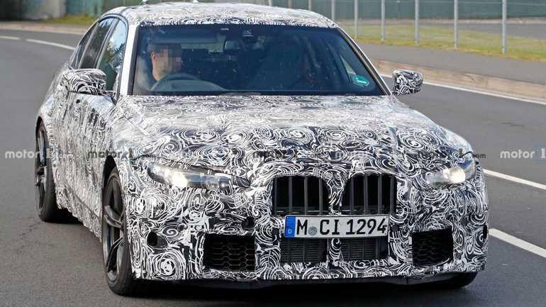 Опубликованы свежие рендеры нового BMW M3 2