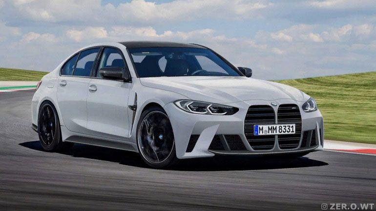 Опубликованы свежие рендеры нового BMW M3 1