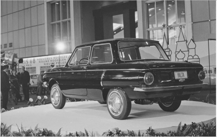 В Сети показали уникальный ЗАЗ с мотором Renault 1