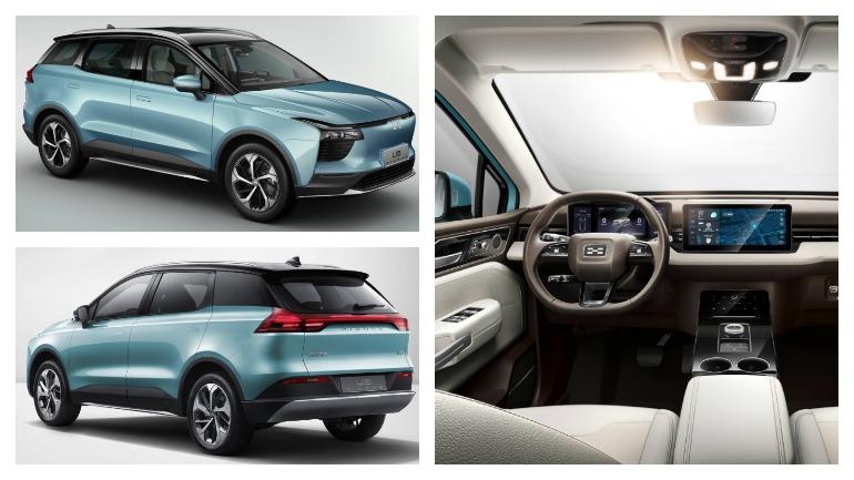 Китайская Aiways привезет новый купе-кроссовер в Европу 2