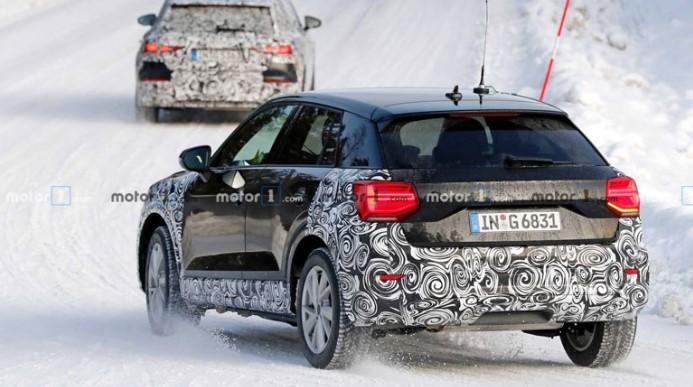 Audi тестирует новый Q2 2