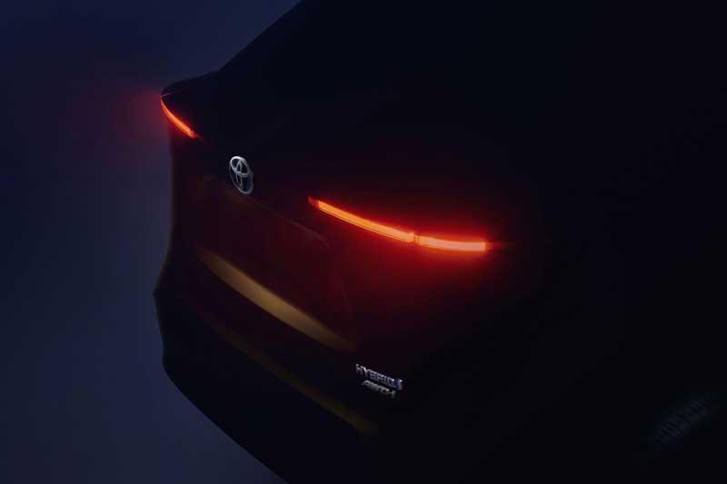 Toyota презентует новый кроссовер 1