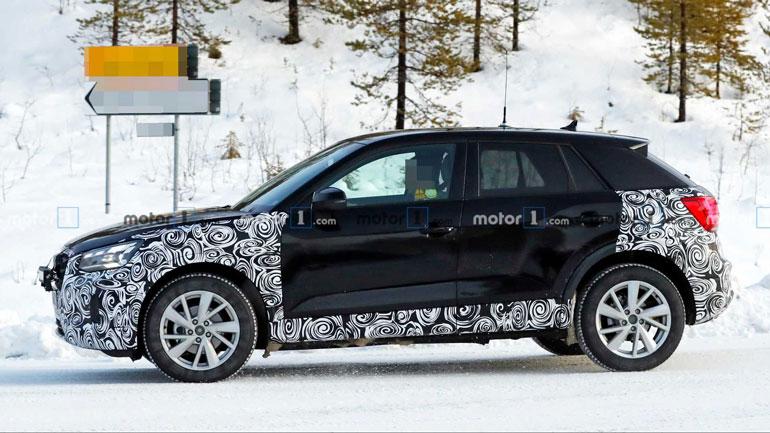 Audi тестирует новый Q2 1