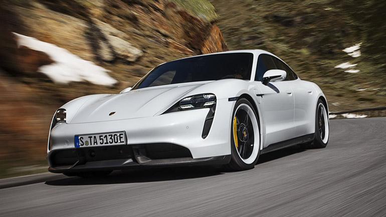 Первым электромобилем Билла Гейтса стал Porsche Taycan 1