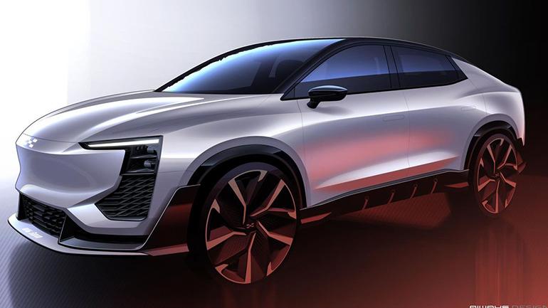 Китайская Aiways привезет новый купе-кроссовер в Европу 1