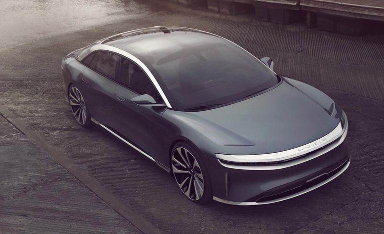 Компания Lucid провела «тайную» презентацию нового электрического седана 1