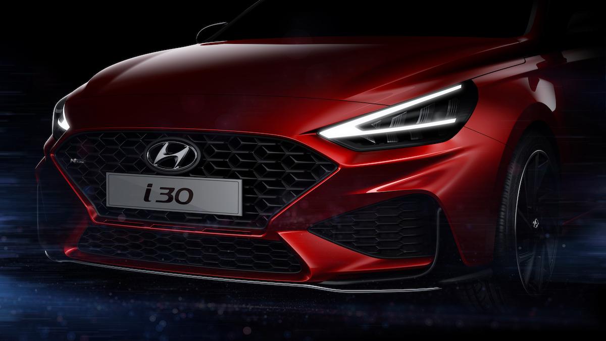 Хэтчбек Hyundai i30 получил полностью переделанное «лицо» 1