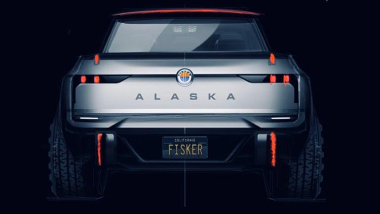 Fisker по ошибке опубликовал изображение своего электрического пикапа 1