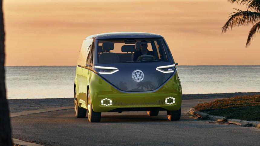 Известна дата появления электрического фургона Volkswagen 1