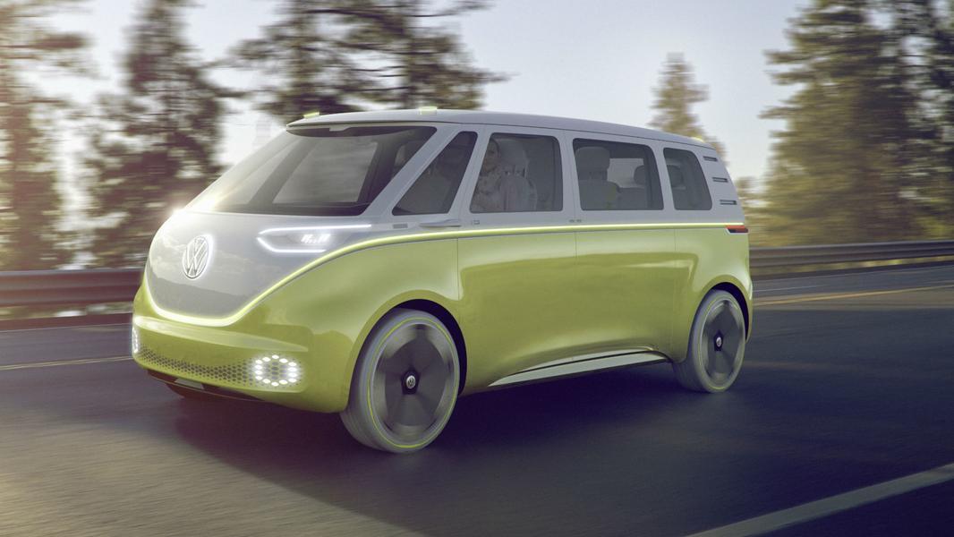 Известна дата появления электрического фургона Volkswagen 2