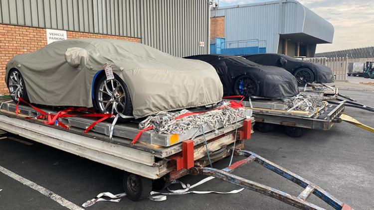 Сверхмощный Bugatti Chiron R готовится к премьере 1