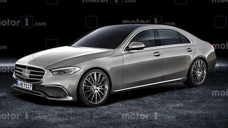 В Сети показали изображения нового Mercedes-Benz S-Class 1