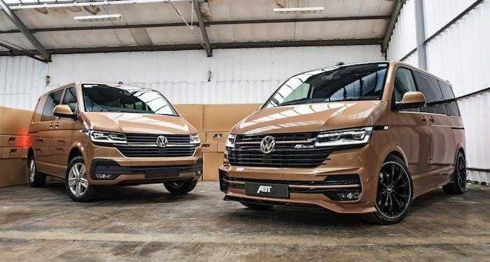 Тюнеры доработали Volkswagen Multivan 1
