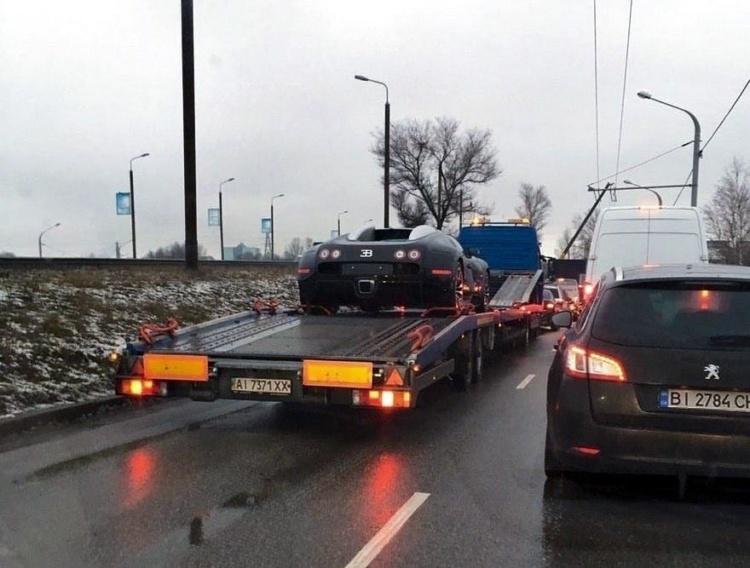 В Украине появился легендарный Bugatti Veyron 1