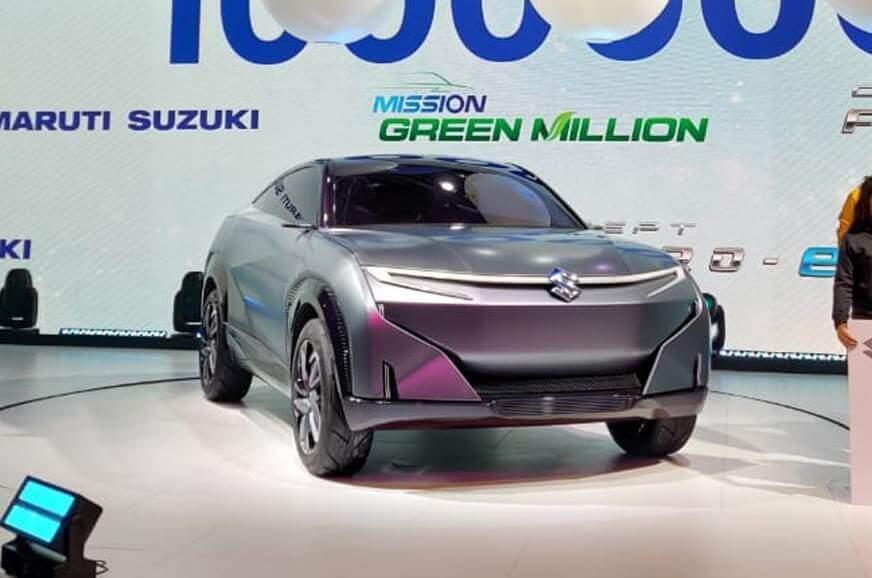 Suzuki хочет выпустить футуристичный кроссовер 1