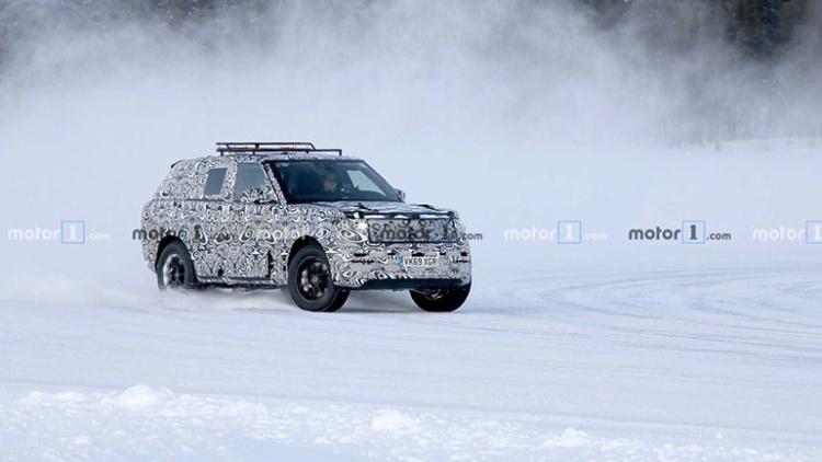 Опубликованы снимки нового Range Rover Sport 2