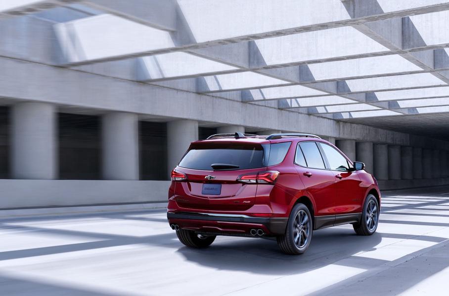 Обновленный Chevrolet Equinox обзавелся спортивной версией 2